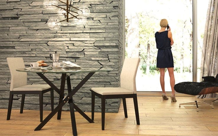 table Iso, chaise Slim