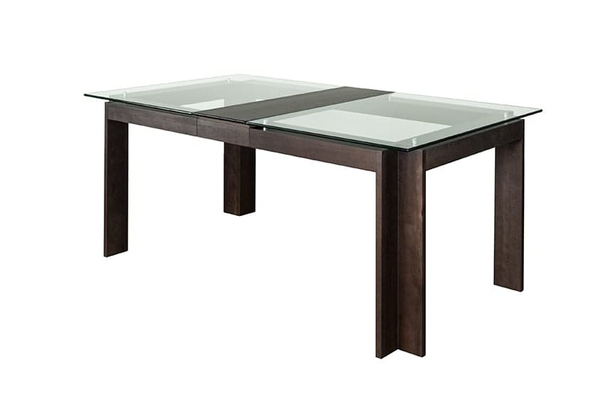 Tables de salle a manger extensible conceptions de for Table contemporaine extensible